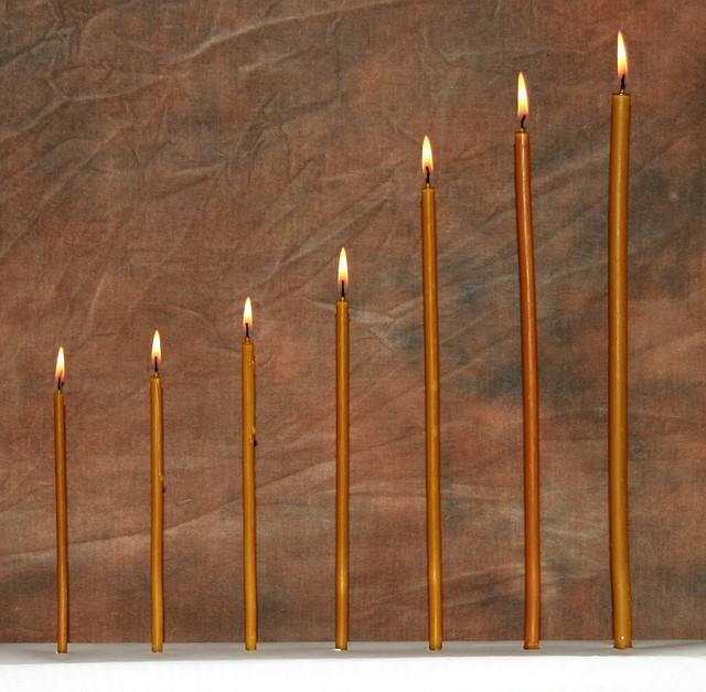 Церковная восковая свеча  №140, 700шт. (вес 2кг.), фото 1