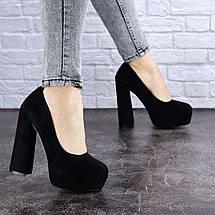 Туфли женские на высоком каблуке Fashion Night 1381 40 размер 25,5 см Черный, фото 3