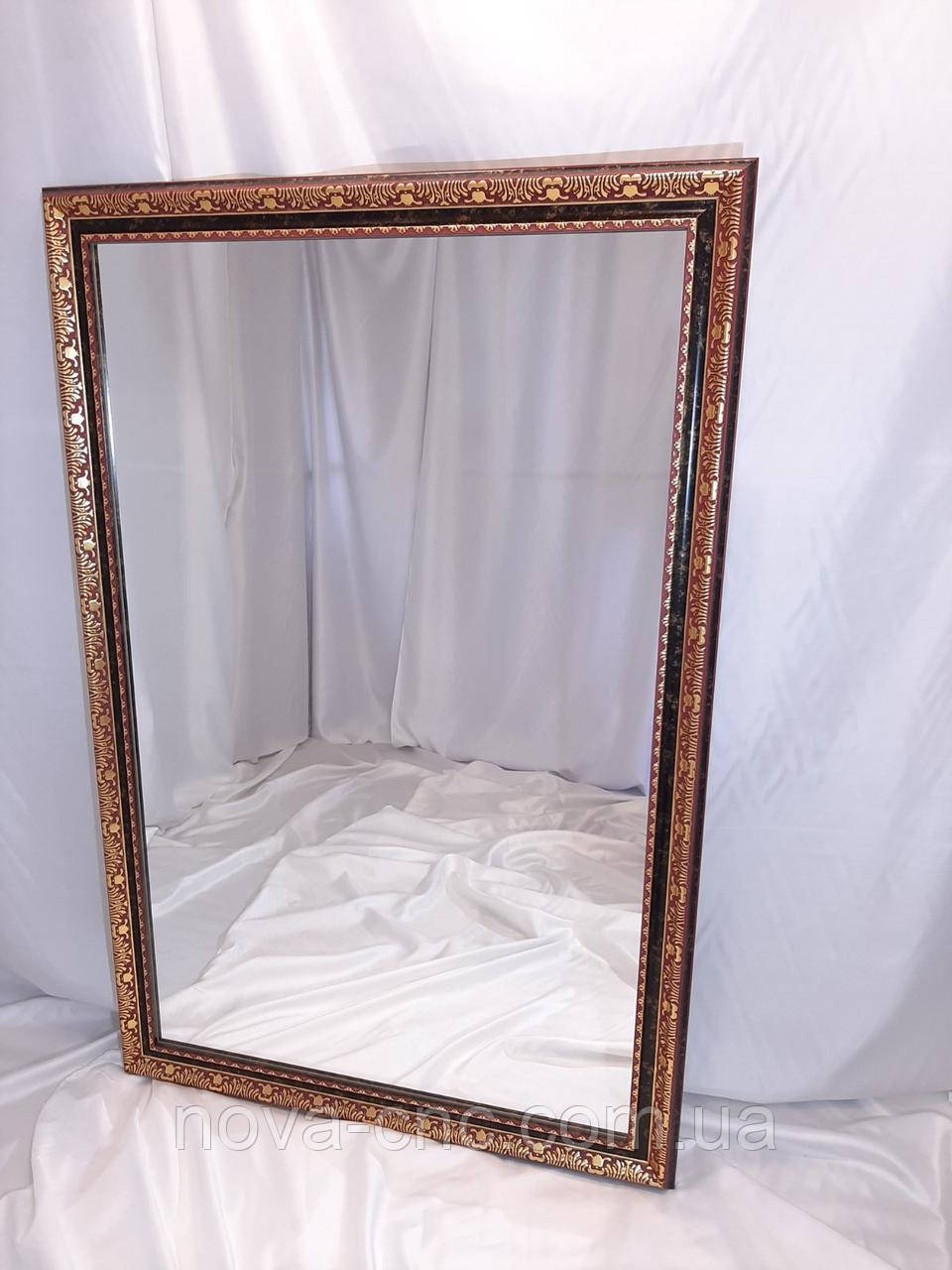 "Зеркало в багете ""Б-219""  938 х 1410 мм"