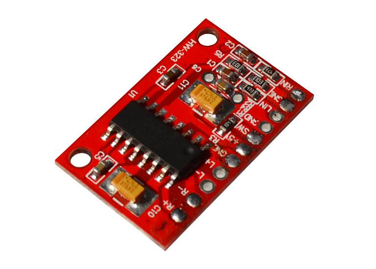 Плата усилителя звука PAM8403, 2х3Вт, 3-5В