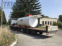 Перевозка мини АЗС, Трал для перевозки мини АЗС