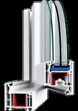 Металлопластиковые ПВХ конструкции, профиль VEKA SoftLine 70