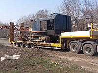 Перевозка строительного крана, Трал для перевозки строительного крана