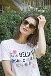 Солнцезащитные женские очки 8185-3, фото 6