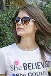 Солнцезащитные женские очки 8183-1, фото 6