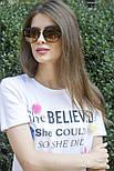 Солнцезащитные женские очки 8183-1, фото 7