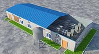 Металлоконструкции для строительства птичника, свинофермы, агропромышленных объектов. Изготовление и монтаж.