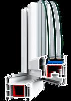 Металлопластиковые ПВХ конструкции, профиль VEKA TopLine 70