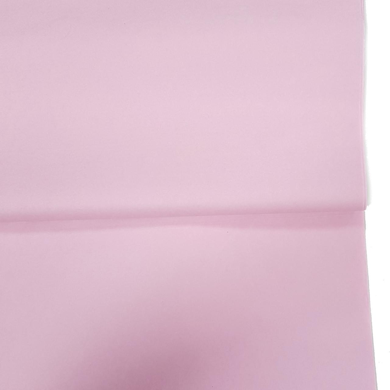 Бумага тишью №18789 нежно-розовая 10шт., для вечеринки Baby Shower