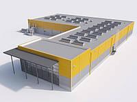Построить производство, цех, завод, фабрику