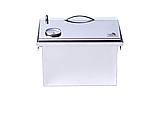 """Коптильня из нержавейки с термометром (400х300х310) крышка """"Домик"""", фото 8"""