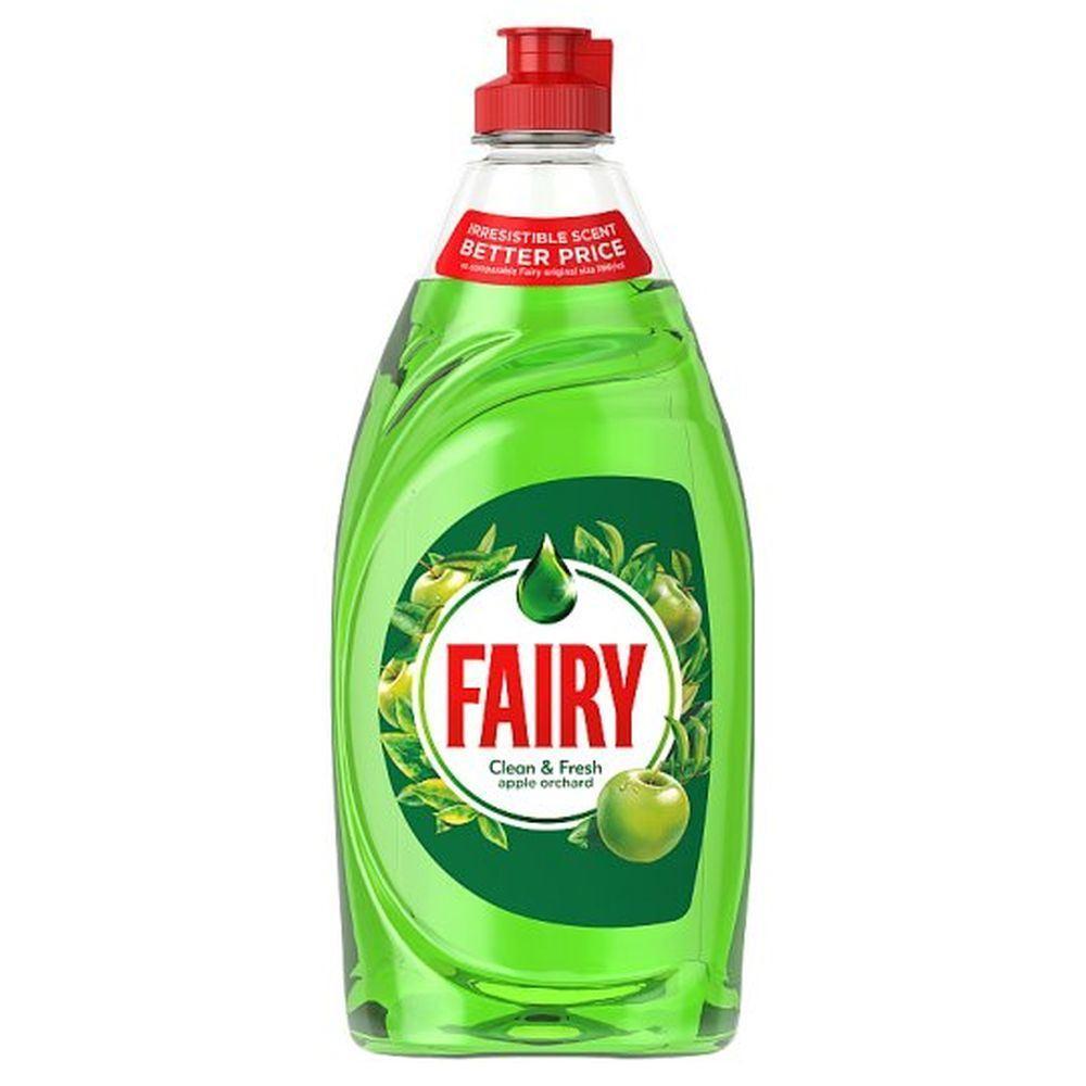 Рідкий засіб для миття посуду Fairy Clean & Fresh apple orchard (яблучний сад)520 мл.