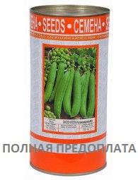 """Семена гороха сахарного """"Женева"""" ТМ ВИТАС, 500 г (в банке)"""