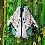 Мужские кроссовки Nike EXP-X14 (бело-бирюзовые) KS 1426, фото 7