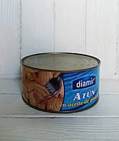 Тунец в подсолнечном масле Diamir Atun En Aceite De Girasol 900г/650г (Испания), фото 1