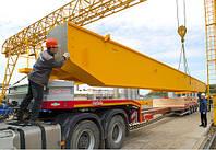 Перевозка мостового крана, Трал для перевозки мостового крана