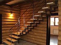 Лестницы кованные и каркасы из металла на заказ