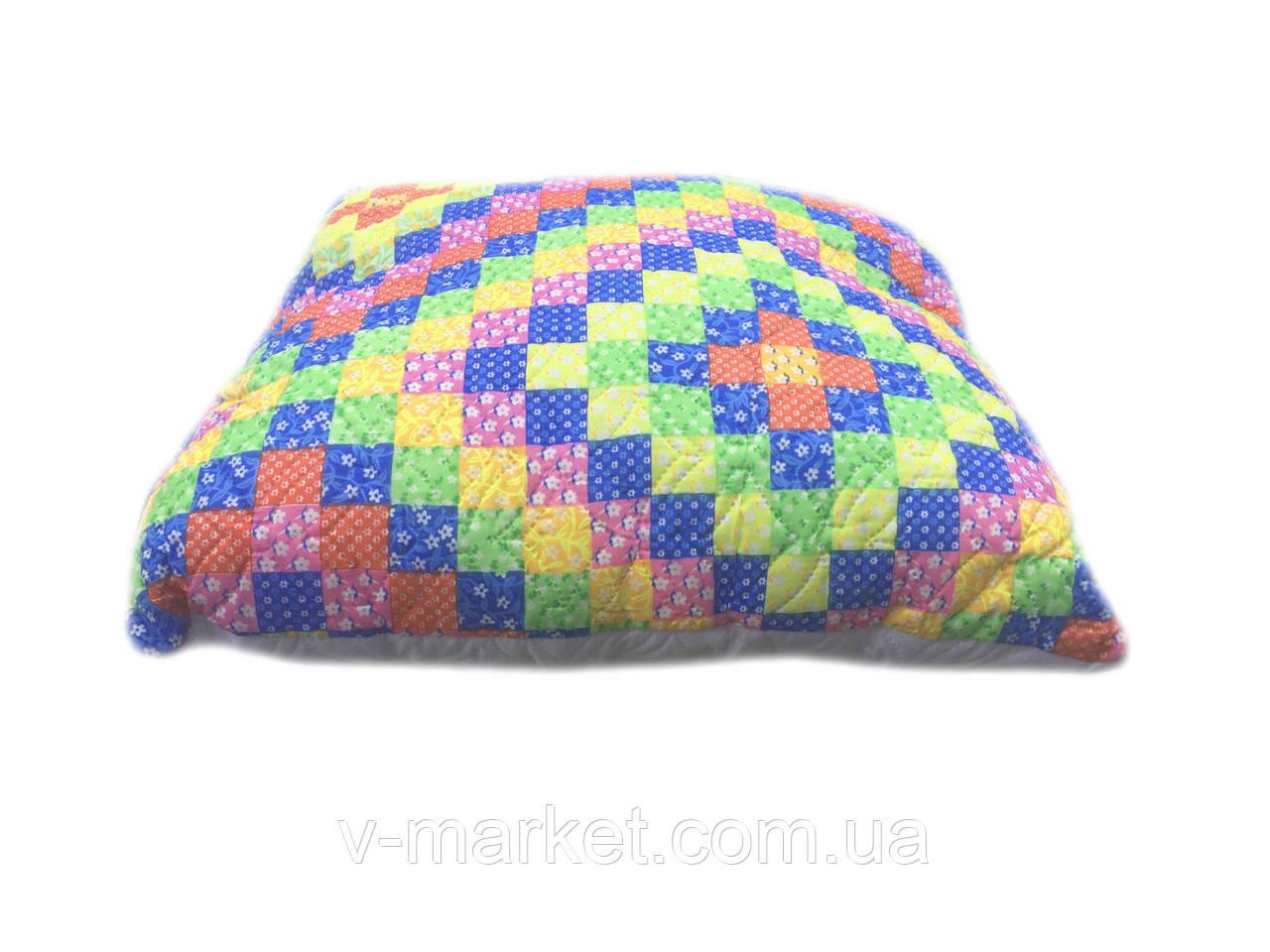 Подушка квадратная 70/70, силикон шариковый