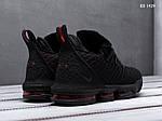 Чоловічі кросівки Nike Lebron 16 Fresh Bred (чорні) KS 1429, фото 4