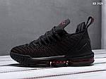 Чоловічі кросівки Nike Lebron 16 Fresh Bred (чорні) KS 1429, фото 8