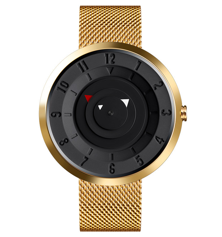 Skmei 9174 золотистые оригинальные часы мужские