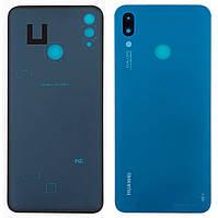 Задняя крышка Huawei P Smart Plus BLUE (стекло камеры)