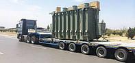 Перевозка трансформатора, Трал для перевозки трансформатора