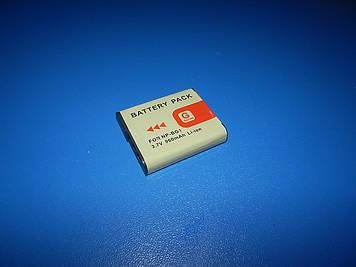 "Аккумулятор MastAk аналог Sony NP-BG1 3,6V 0,960Ah (3,5Wh )"" info-Litium """