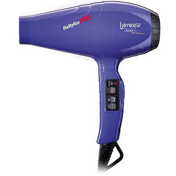 Фен для волосся BaByliss PRO BAB6350IPE Luminoso Viola
