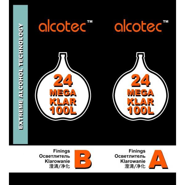 Средство для осветления браги Alcotec 24 Turbo Klar 100L