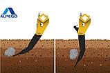 Глибокорозпушувач ALPEGO CraKer KE 7-300 механічне регулювання глибини під трактор 200-250 к.с., фото 9