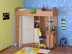 Кровать чердак в детскую       КЧД - 2904