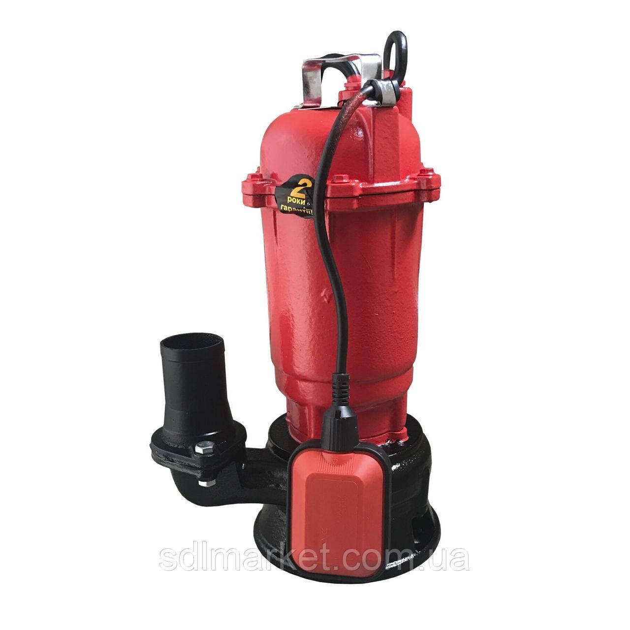 Насос фекальний Optima WQD 15-15 1.5 кВт