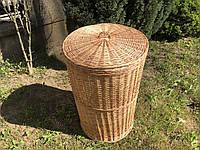 Плетена корзина для білизни d50 x h75 см.