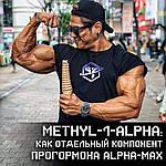 Methyl-1-Alpha як окремий компонент комплексного прогормона ALPHA-MAX від Special Force Pharm