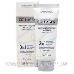 ВВ крем с морским коллагеном Enough Collagen 3 in 1 Whitening Moisture BB Cream, SPF47 PA+++ (50 g)