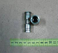 Соединитель трубы прямой М12 металл.