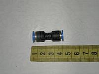 Соединитель трубы прямой М5 п/эт.