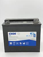 Мото аккумулятор EXIDE GEL12-30