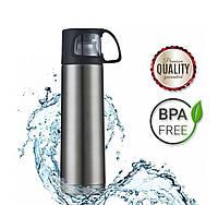Термос DEXT NS01 BPA Free 720 °  вакуумный из нержавеющей стали 700 мл крышка-кружка (OK22DXTR006)