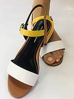 Відкриті жіночі босоніжки .Натуральна ножа.Низький каблук.Супер комфорт.37-39.Vellena, фото 10