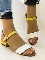 Відкриті жіночі босоніжки .Натуральна ножа.Низький каблук.Супер комфорт.37-39.Vellena, фото 4