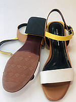 Відкриті жіночі босоніжки .Натуральна ножа.Низький каблук.Супер комфорт.37-39.Vellena, фото 8