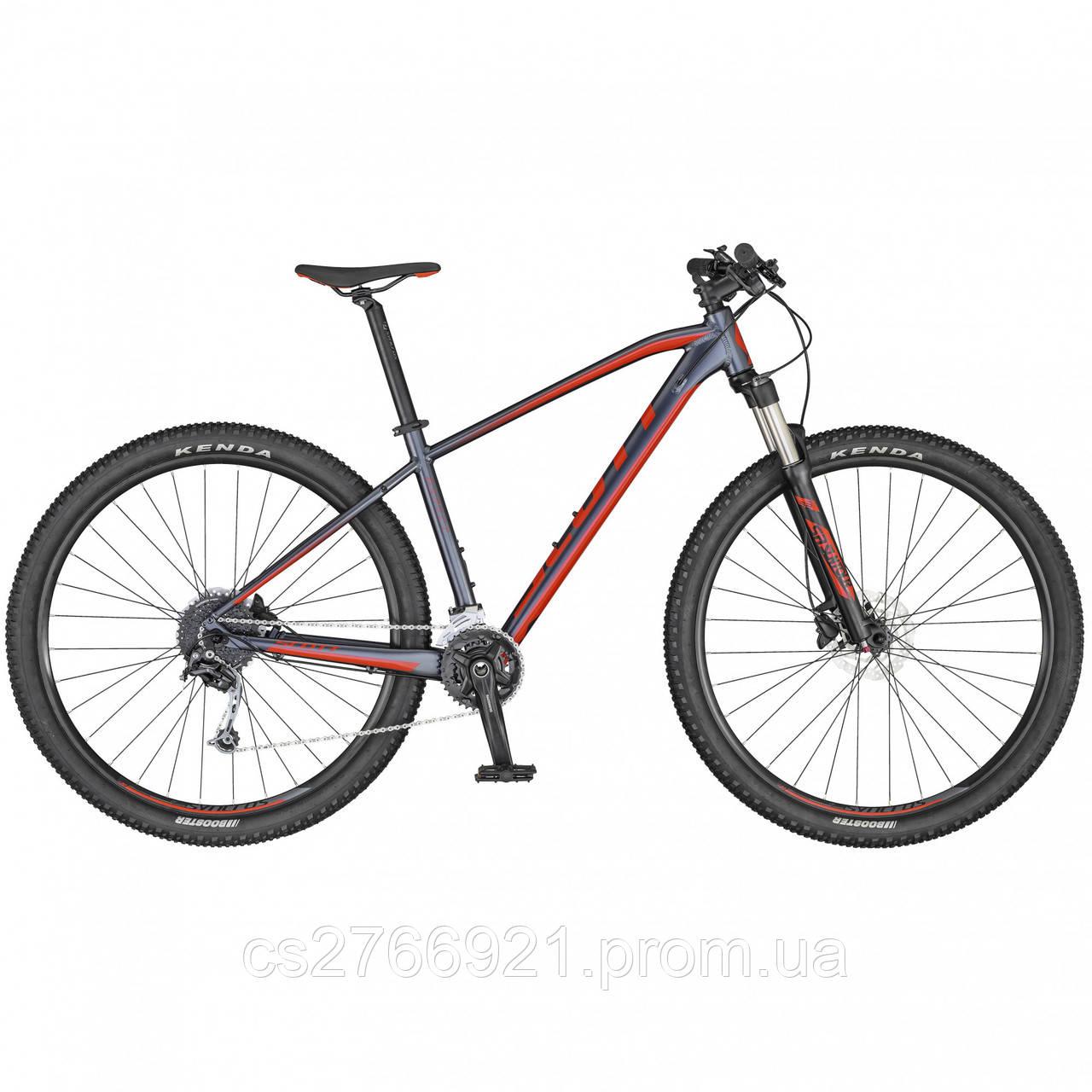 Велосипед ASPECT 740 серо/красный (CN) 20 SCOTT