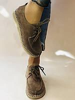 24pfm. Жіночі туфлі - натуральний замш. Розмір 36.38 Vellena, фото 3