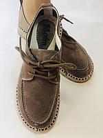 24pfm. Жіночі туфлі - натуральний замш. Розмір 36.38 Vellena, фото 5