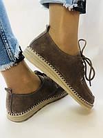 24pfm. Жіночі туфлі - натуральний замш. Розмір 36.38 Vellena, фото 6
