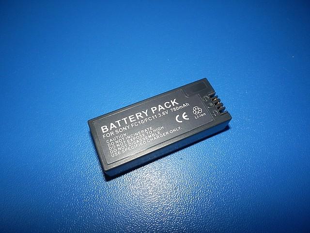 "Аккумулятор MastAk аналог Sony NP-FC11 3,6V 0,78Ah (2,8W) "" info-Litium """
