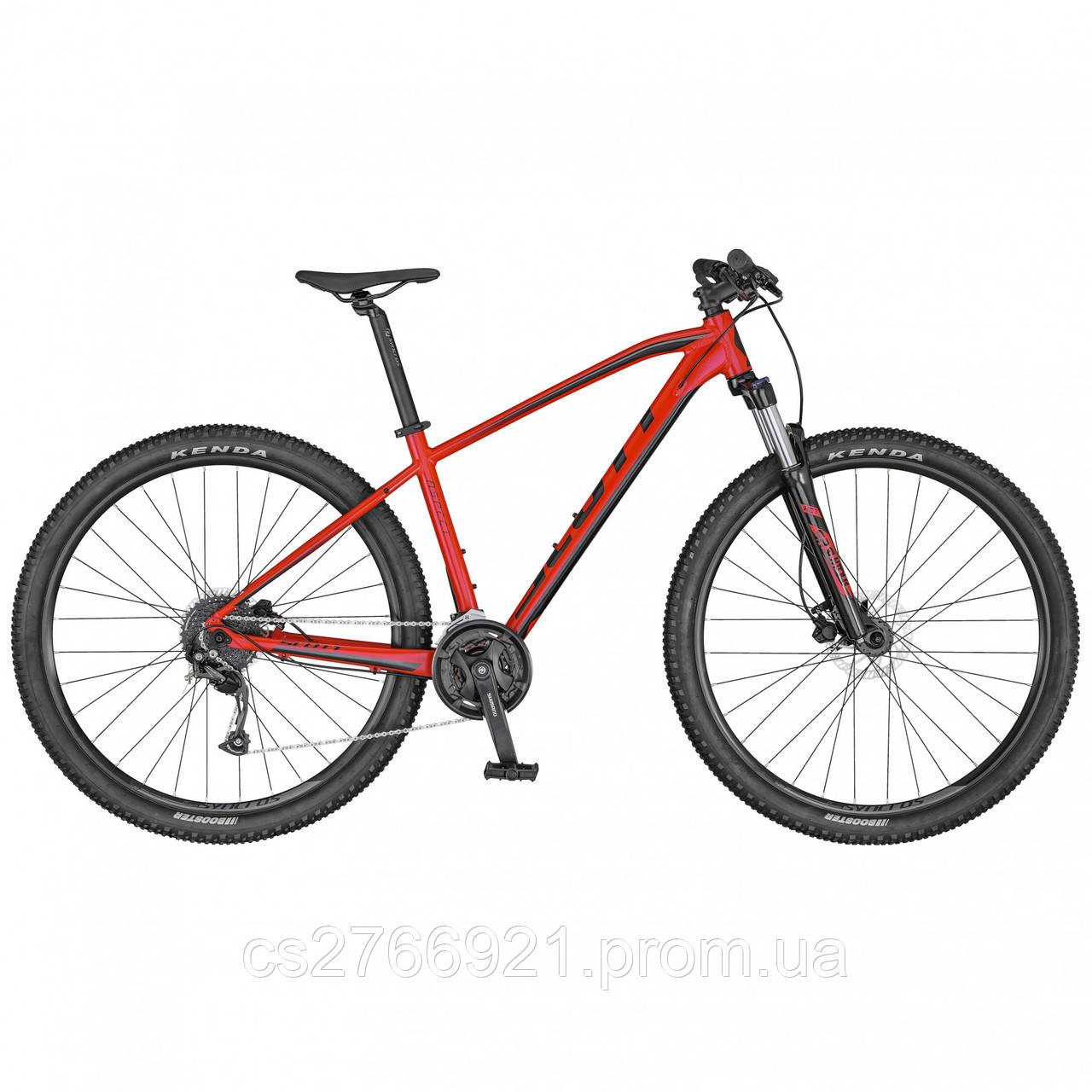 Велосипед ASPECT 750 красно/чёрный (CN) 20 SCOTT