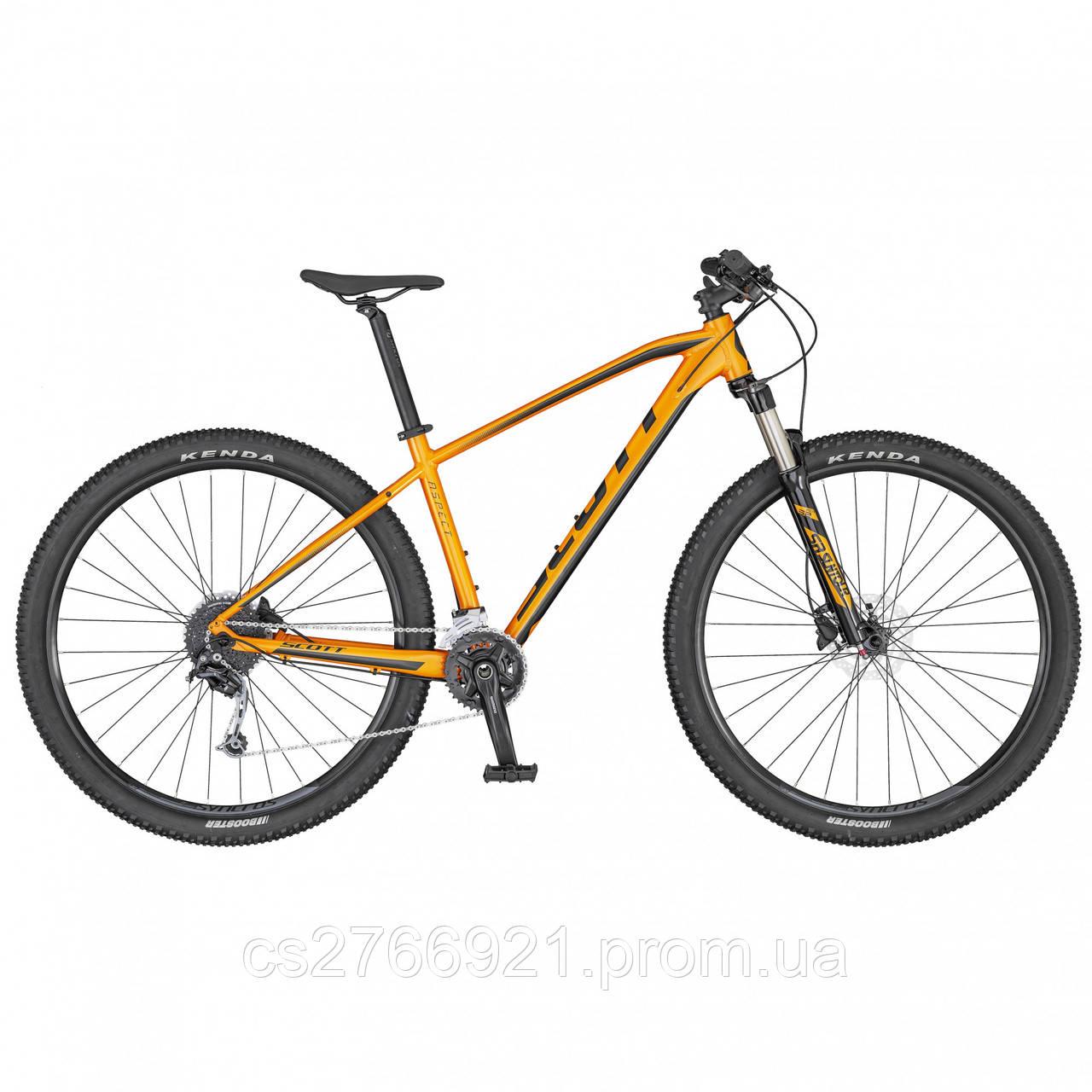 Велосипед ASPECT 940 оранжево/серый (KH) 20 SCOTT